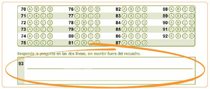 Tipos de pregunta para la prueba Saber 11